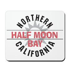 Half Moon Bay California Mousepad