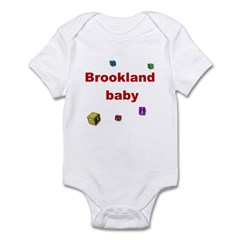 Brookland Letter Blocks Infant Creeper