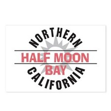 Half Moon Bay California Postcards (Package of 8)