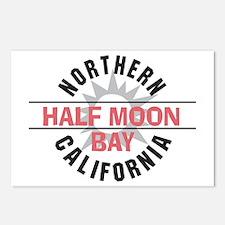 Half Moon Bay California Postcards (Package of 8)