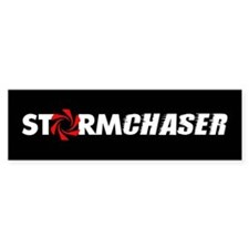 Storm Chaser Bumper Car Sticker
