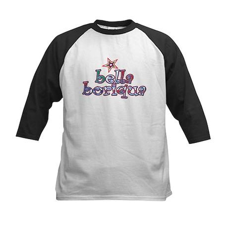 Bella Boriqua Kids Baseball Jersey