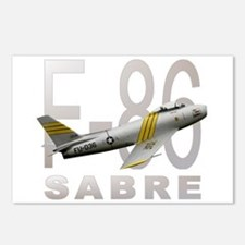 F-86 SABRE FIGHTER Postcards (Package of 8)