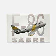 F-86 SABRE FIGHTER Rectangle Magnet