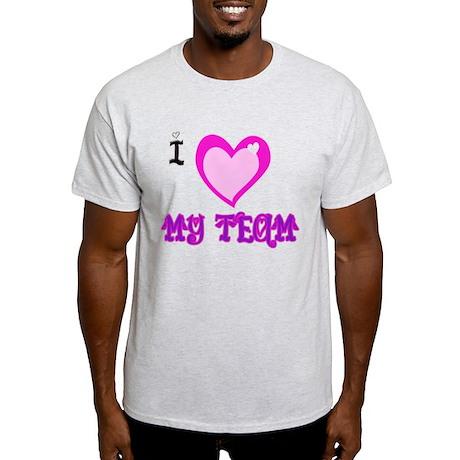 I Love My Team Light T-Shirt