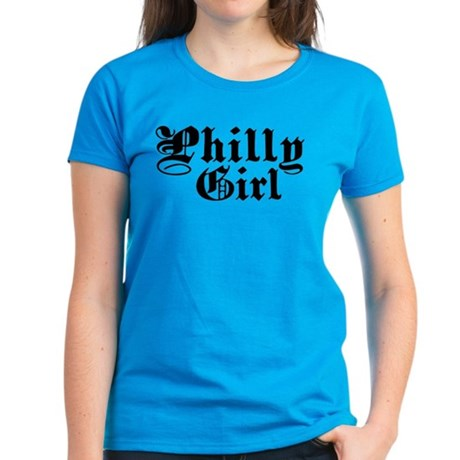 Philly Girl Women's Dark T-Shirt