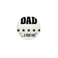 """World's greatest dad Amazing father"" Mini Button"