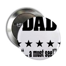 """""""World's greatest dad Amazing father"""" 2.25"""" Button"""
