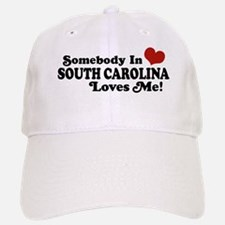 Somebody in South Carolina Loves Me Baseball Baseball Cap