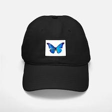 Blue Butterfly Baseball Hat