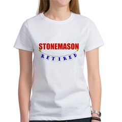Retired Stonemason Women's T-Shirt