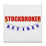 Retired Stockbroker Tile Coaster