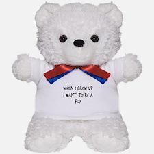 Grow up - Fox Teddy Bear