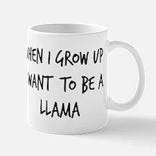 Grow up - Llama Mug