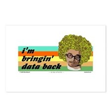 data back Postcards (Package of 8)