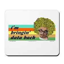 data back Mousepad