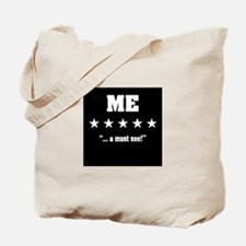 """I'm amazing. Check me out"" Tote Bag"