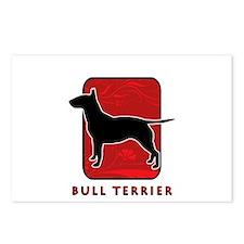 Bull Terrier Postcards (Package of 8)
