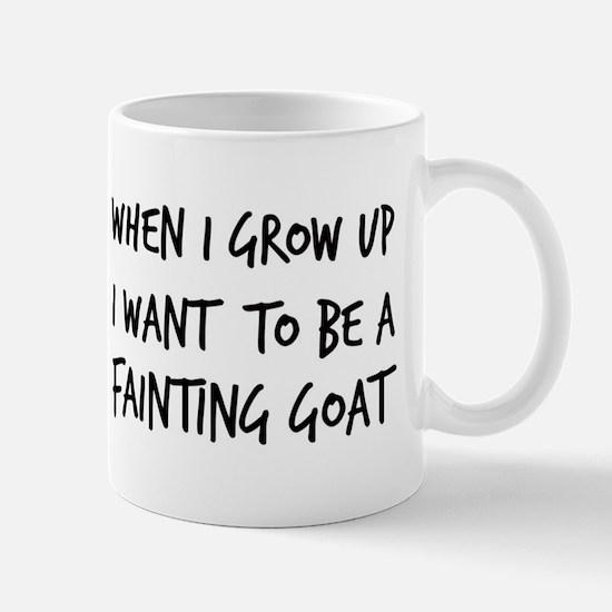Grow up - Fainting Goat Mug