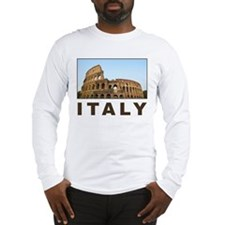 Italy Long Sleeve T-Shirt