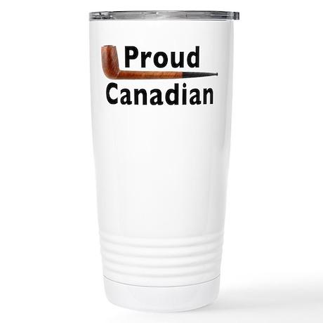 Canadian Pipe Shape Stainless Steel Travel Mug