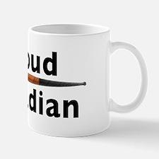 Canadian Pipe Shape Mug