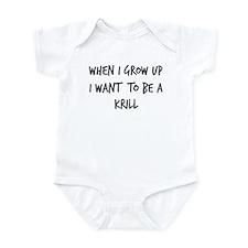 Grow up - Krill Infant Bodysuit