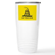 Gadsden Flag Ceramic Travel Mug