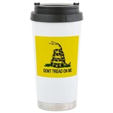 Gadsden Flag Travel Mug