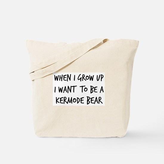 Grow up - Kermode Bear Tote Bag