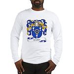 Pottier Family Crest Long Sleeve T-Shirt
