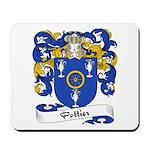 Pottier Family Crest Mousepad