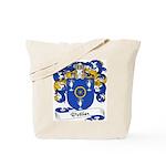Pottier Family Crest Tote Bag