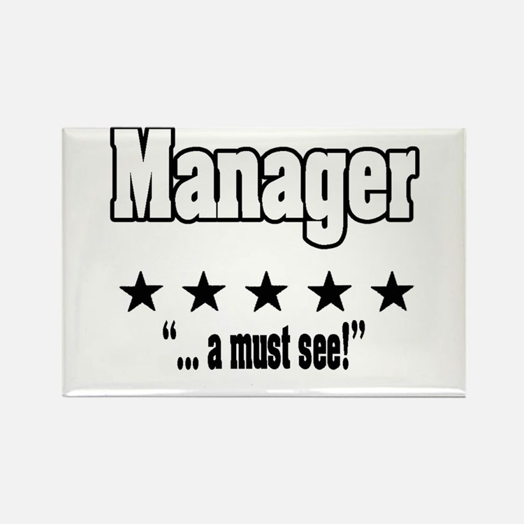 """""""Great Manager, Amazing Boss"""" Rectangle Magnet"""