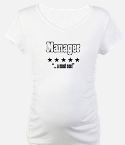 """Great Manager, Amazing Boss"" Shirt"