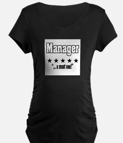 """Great Manager, Amazing Boss"" T-Shirt"