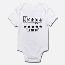 """Great Manager, Amazing Boss"" Infant Bodysuit"