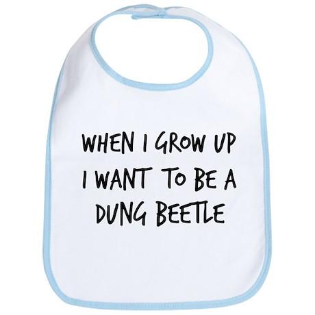 Grow up - Dung Beetle Bib