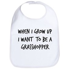 Grow up - Grasshopper Bib