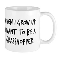 Grow up - Grasshopper Mug