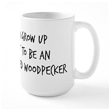 Grow up - Ivory-Billed Woodpe Mug