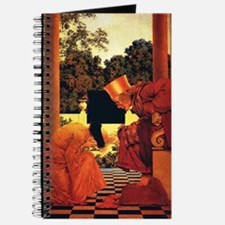 Maxfield Parrish King of Hearts Journal