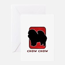 Chow Chow Greeting Card