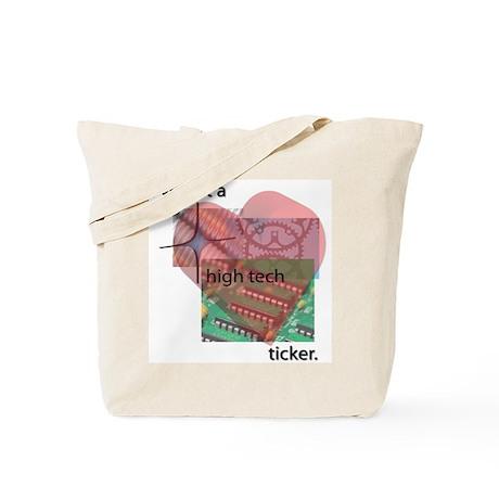 High Tech Ticker Tote Bag
