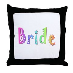Bride (Bright) Throw Pillow
