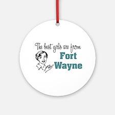 Best Girls Fort Wayne Keepsake (Round)