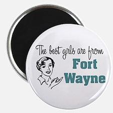 Best Girls Fort Wayne Magnet