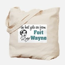 Best Girls Fort Wayne Tote Bag