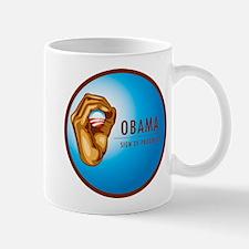 Sign of Progress Mug
