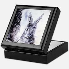 Feather Bunny Keepsake Box